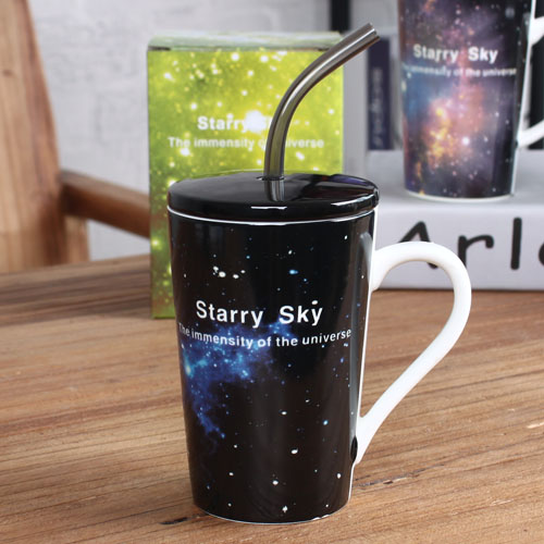 starry sky coffe mug