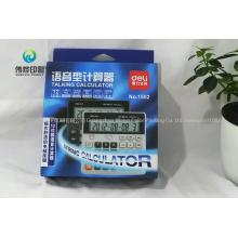 Custom Printing Electronic Calculator Paper Packaging Box