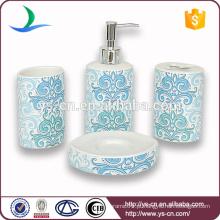 2014 Atacado Moderna Cerâmica Banheiro Conjuntos Com Decalque