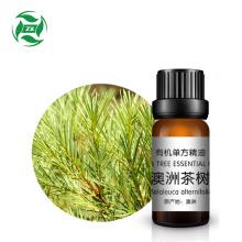 COA 100% органическое чистое эфирное масло чайного дерева.