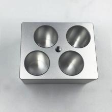Piezas de aluminio que trabajan a máquina de encargo de calidad para el instrumento