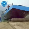 Airbag de flutuação movente do navio Evergreen que levanta a bolsa a ar de borracha marinha do embarcadouro
