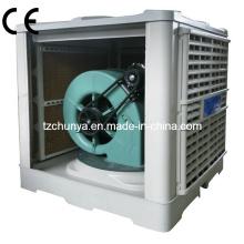 Экологичный испарительный воздухоохладитель с низким уровнем шума