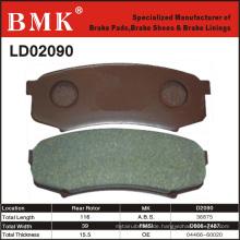 Umweltfreundlicher Bremsbelag (D2090) für japanisches Auto