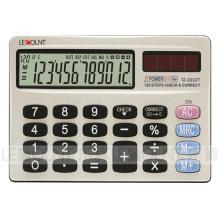 Portable 12 chiffres Calculatrice de poche à double taille pour ordinateur portable (CA3058)
