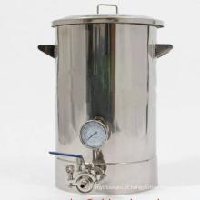 Novo estilo baixo custo de aço inoxidável 15gallon Brewery equipamentos para uso doméstico