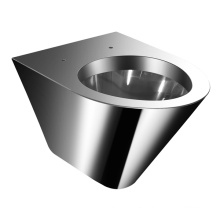 Inodoro de acero inoxidable (JN49111J)