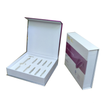 wholesale custom rigid paper magnetic close flip small essential oil bottle boxes 30 ml bottle packaging gift cosmetic box