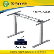 Сидеть стоять столбец стол подъемный электрический электрический высота регулируемый стол рамка электрический подъемный стол