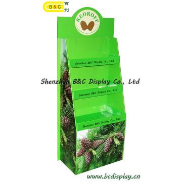 2016 Hot Selling Display de papelão para produtos agrícolas Stand de exibição de papelão em papelão (B & C-A004)
