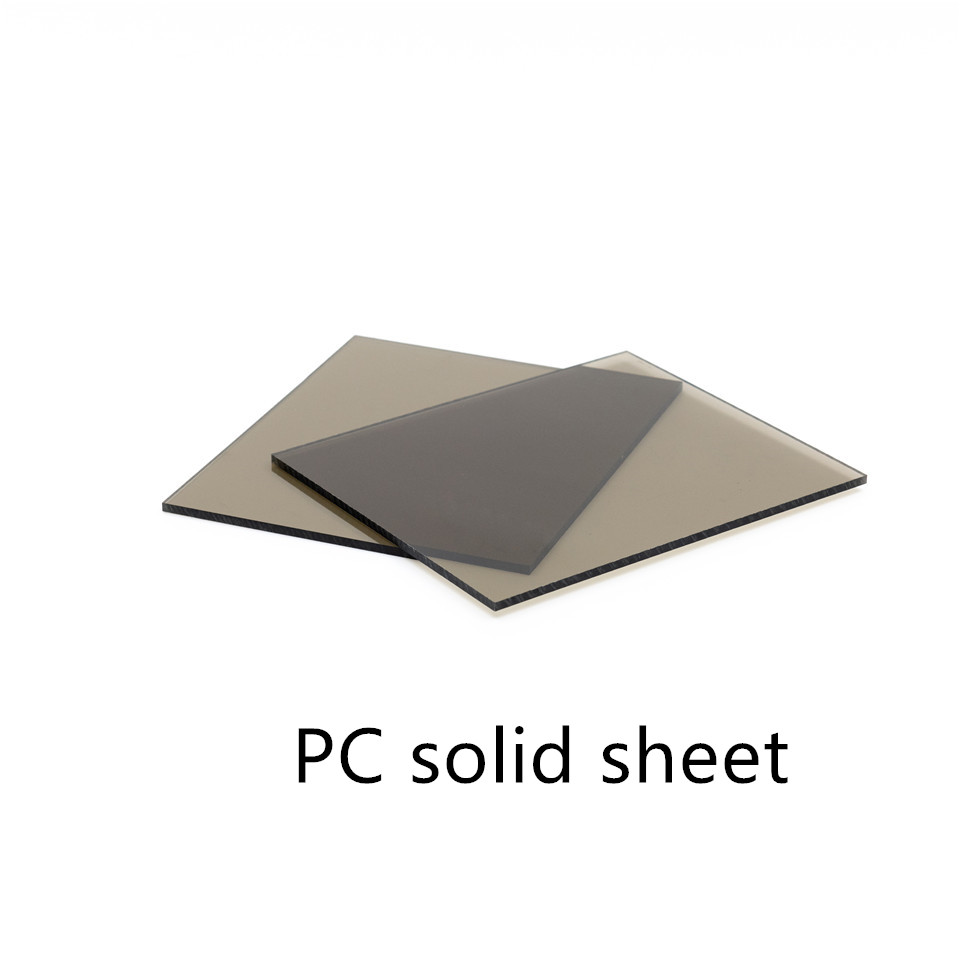 Brown polycarboante solid sheets