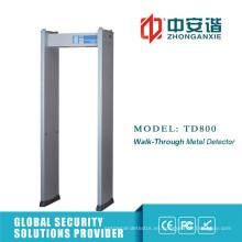 Sensor de nivel 200 Fuente de alimentación Detector de metales de marco de puerta