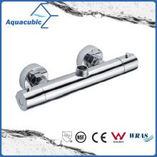 Bathroom Shower Brass Chromed Anti-Scald Thermostatic Tap (AF4102-7)