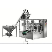 rotary type premade bag packing machine for paste