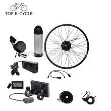 350 W 20 polegadas 26 polegadas 28 polegadas 700C bafang motor do cubo com downtube kit de conversão de bicicleta elétrica da bateria