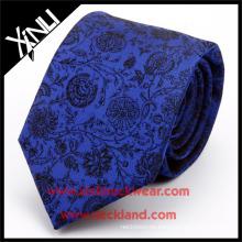 Corbata floral tejida jacquard de seda de alta calidad hecha a mano del 100% Venta al por mayor PayPal