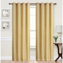 Painel de cortina jacquard de designs atraentes