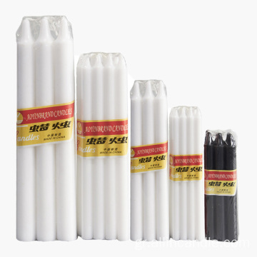 Aoyin Candle Factory Φτηνές White Stick Candle Africa