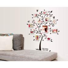 Heißer Verkauf Baum Foto Frame benutzerdefinierte Wanddekoration Aufkleber