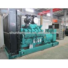 60Hz 800KW / 1000KVA generador diesel Desarrollado por Cummins Motor KTA38-G2A