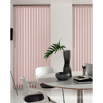 Elegant 89mm White Fabric Vertical Blinds For Home