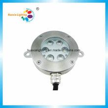 Lumière sous-marine de fontaine de la puissance élevée LED