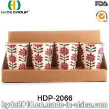 Reusable BPA Free Bamboo Fiber Eco Cup (HDP-2066)