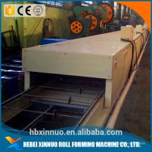 Торговля каменным гарантии с покрытием крыши плитка формируя машину камень-слой крыши плитка машина в Китае