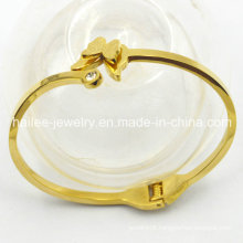 High Quality Stainless Steel Butterfly Bangle for Decoration