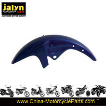 ABS Motorcycle Blue Painted Front Fender Fits for Ybr125