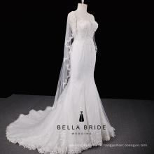 Elegante Meerjungfrau Brautkleider China High End Hochzeit Brautkleid Braut Kleid zum Verkauf