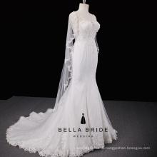 Elegant mermaid wedding dresses China high end wedding bridal gown bride dress for sale