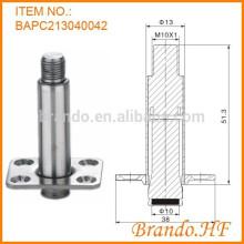 OD 13 mm Válvula solenoide de agua normalmente cerrada Tubo de armadura de acero inoxidable