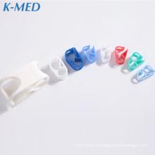 productos médicos clip de tubo de plástico de pvc