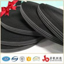Banda elástica tejida de encargo del telar jacquar del ganchillo hecho punto para la ropa