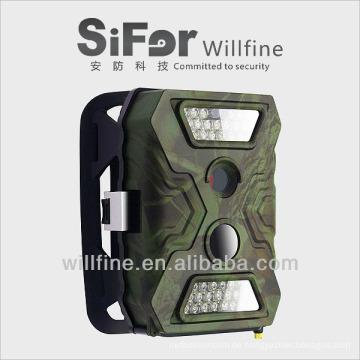 12MP batteriebetriebene drahtlose mms leben Videokamera für die Rotwildjagd
