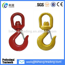 Top Quality G80 Swivel crane hook safety latch Suppliers