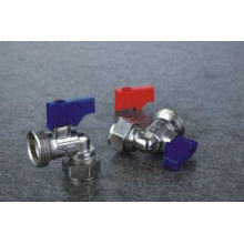 High quality brass ball valve for water with different color handle