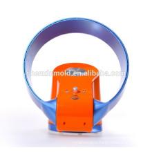 2015 новый горячий продажа bladeless вентилятор / 12 дюйм / с светодиодный свет и пульт дистанционного (оранжевый,синий)
