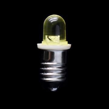 Parafuso amarelo do bulbo E10 do diodo emissor de luz Mini de 4.5V 8mm