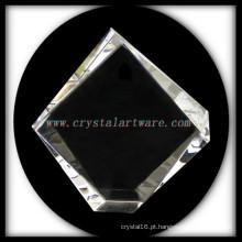Molduras para fotos em branco cristal Iceberg da alta qualidade para gravação a laser