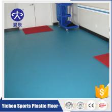 Industrial pvc vinyl flooring hospital grade