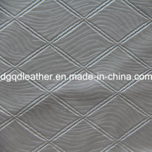 Cuero especial para muebles de decoración de patrones de acolchado (QDL-51386)