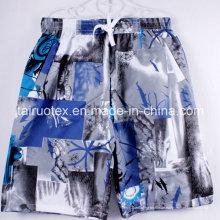 100% Polyester Mikrofaser gebürstet Pfirsichhaut für Strand Shorts