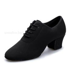 Custom High Quality Oxford Cloth Ballroom Waltz Latin Dance Shoes