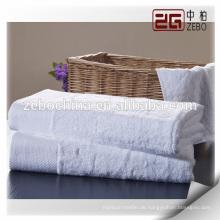 Neuheit Custom Logo Verfügbar Pure White 100% Baumwolle Hotel Bad Handtuch