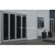 Революционные алюминиевые двери с двойным стеклом высокого качества