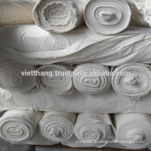 Grauer Webstoff - 100% Baumwolle gekämmt / 130*72/CM40xCM40