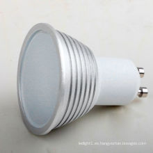 Alto poder Dimmable 5W E27 GU10 5730 SMD Luz del bulbo del LED Lampen el proyector
