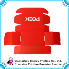 la caja de zapatos corrugada del embalaje del producto del OEM del nuevo diseño-clasificado superior